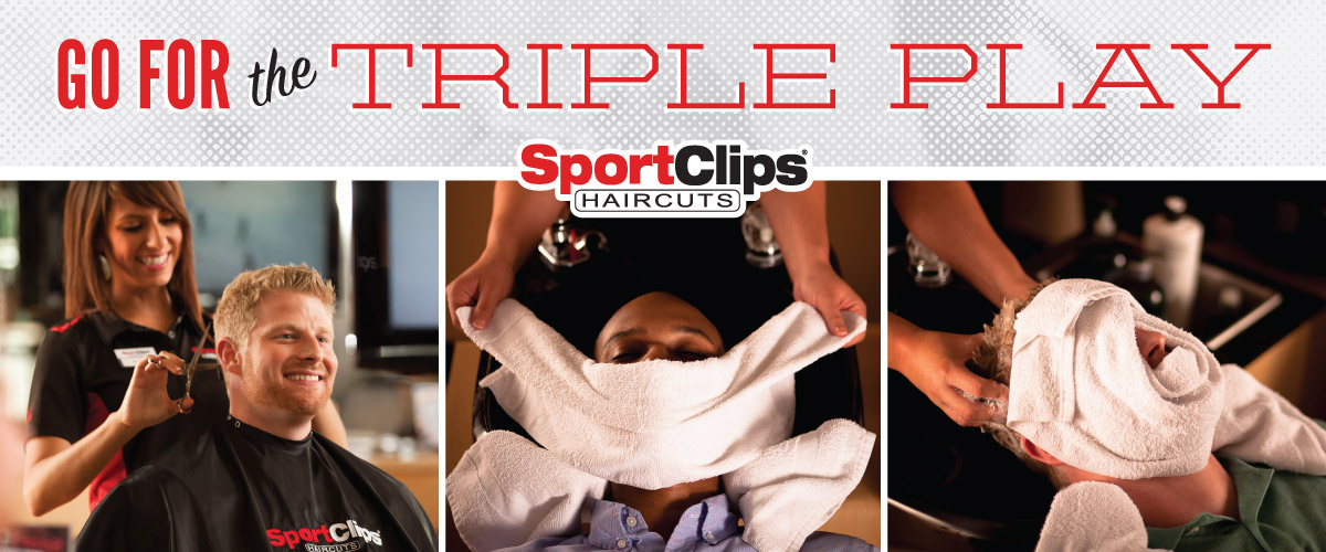The Sport Clips Haircuts of Trussville Triple Play